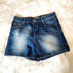 Medium Wash Blue Jean Shorts